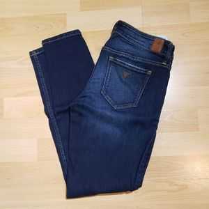 GUESS jeans,  skinny, mid rise, 29